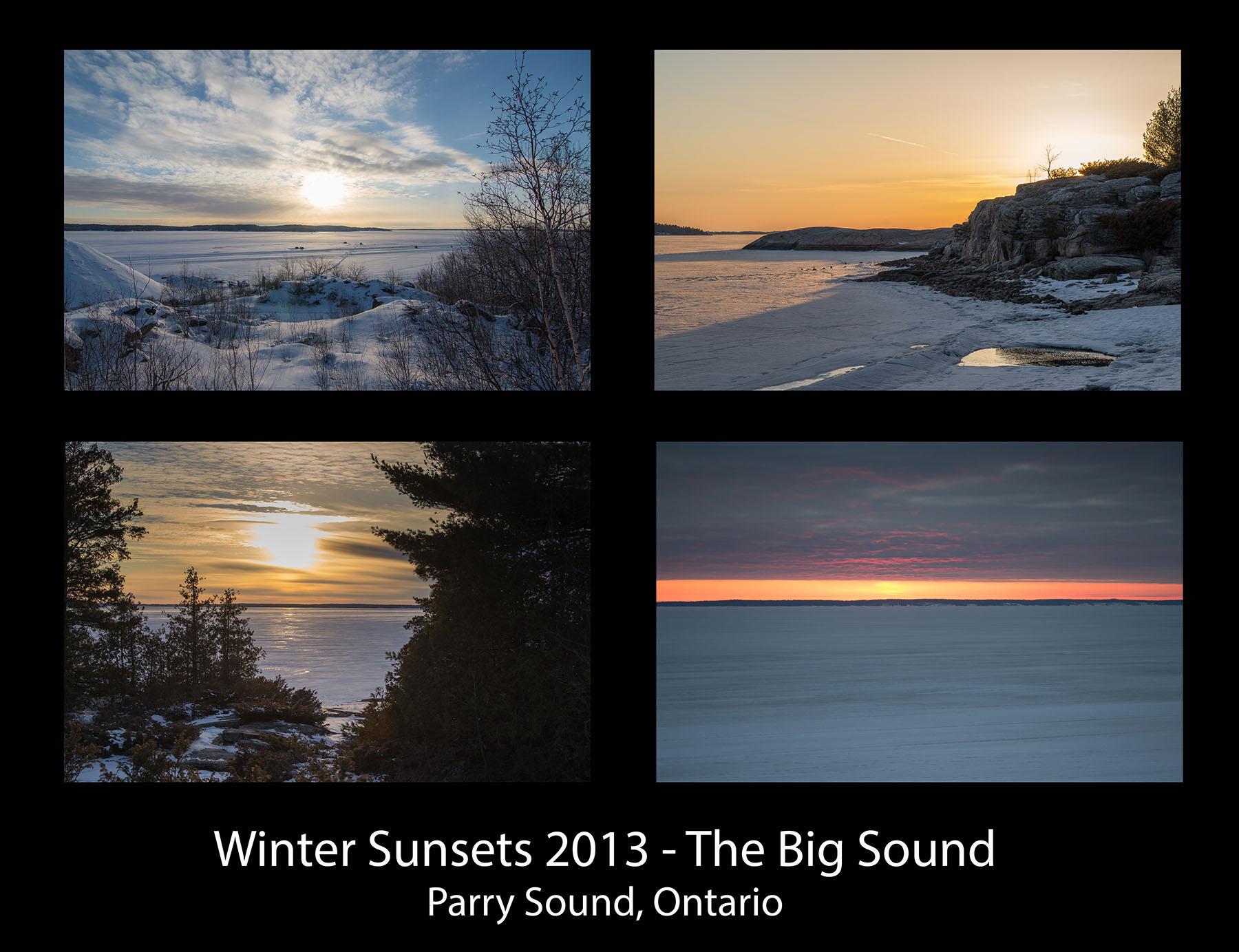 ParrySights Big Sound Winter Sunsets